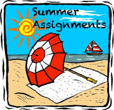 Summer Assignments are online!